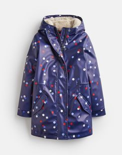 reliable reputation choose genuine well known Charlotte Fleece Lined Rubber Coat 3-12 Years