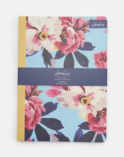 Joules UK A5 Notebooks Homeware Set Of Two MULTI BIRCHAM BLOOM