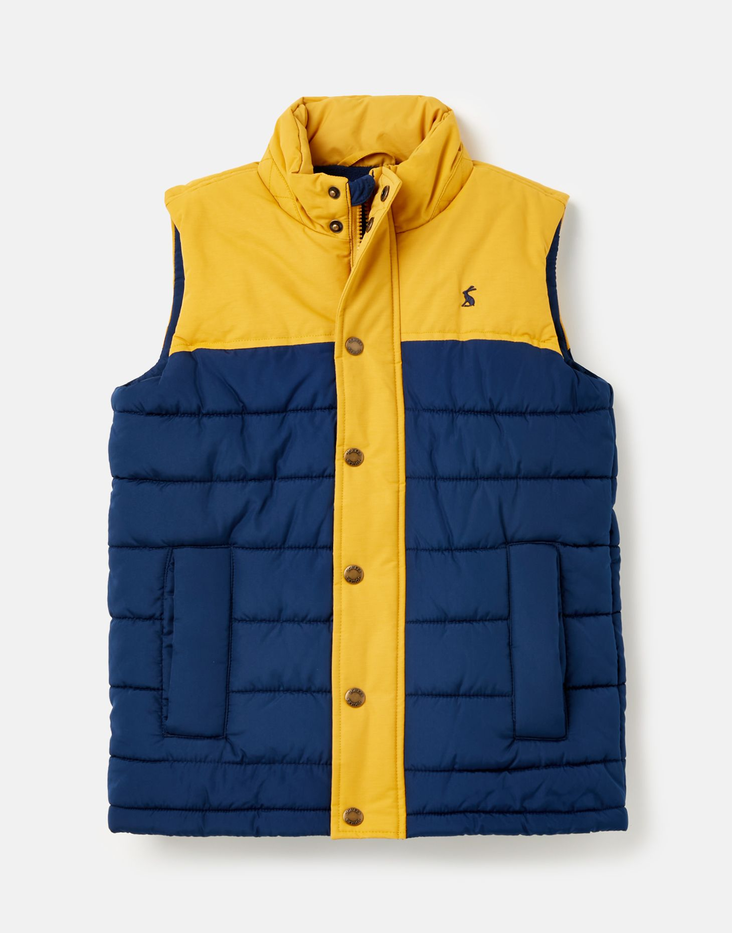 Joules Boys Matchday Fleece Lined Padded Gilet