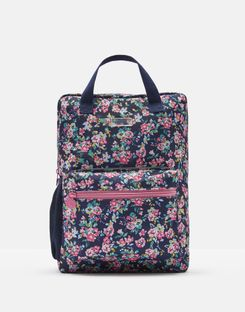 Joules UK Easton Girls Star Backpack NAVY DITSY FLORAL