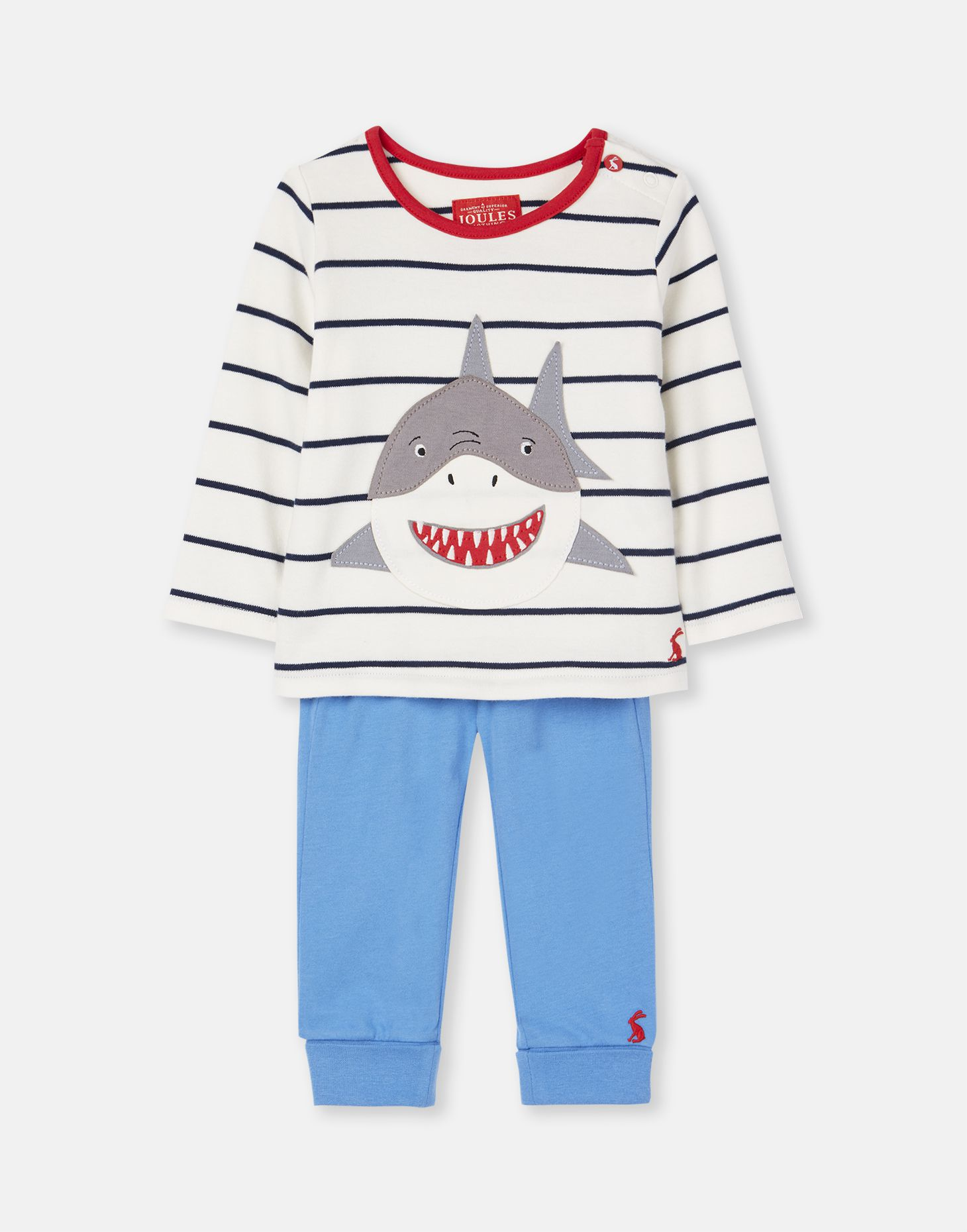 Joules Baby 203984 Top And Joggers Set in FRENCH NAVY