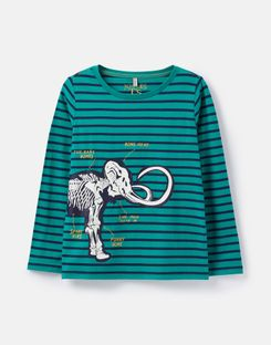 Joules Girls Animate Applique T Shirt 1 6 Years in GREY BACKPACK