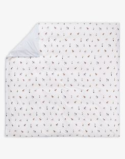 Joules UK Garden Dogs Homeware Duvet Cover CREME DOGS