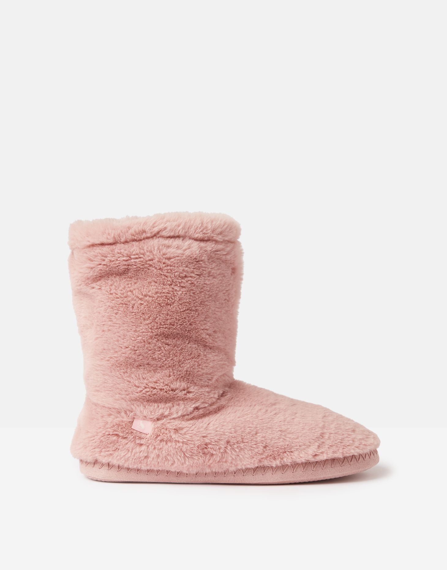 Joules Womens Luxe Super Soft Faux Fur Lined Slippers
