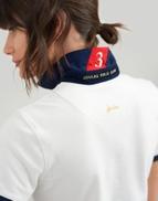 CREAM Joules Womens Claredon Polo Shirt