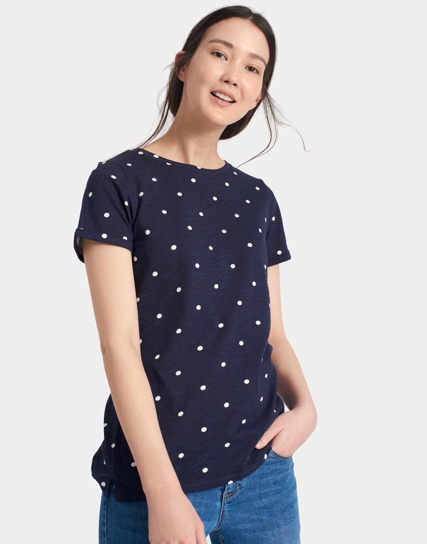 JOULES Nessa T-shirt Tee Top Chinese Sz 10 RRP £ 24.95 freeukp /& P
