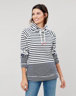Cream /& Blue Joules Selena Sweatshirt Ladies Sweatshirts /& Jumpers
