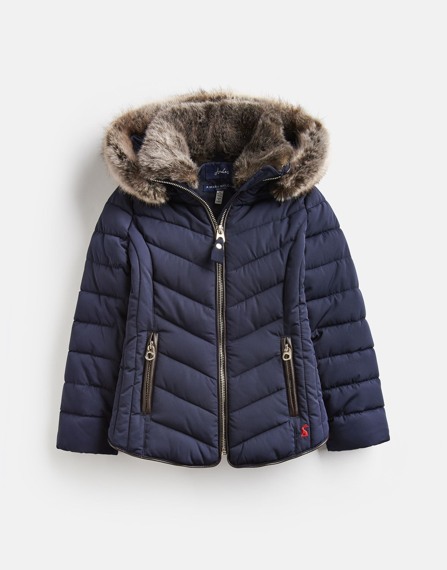 clear-cut texture on feet shots of lower price with Gosling Quilted Coat 3-12 Years