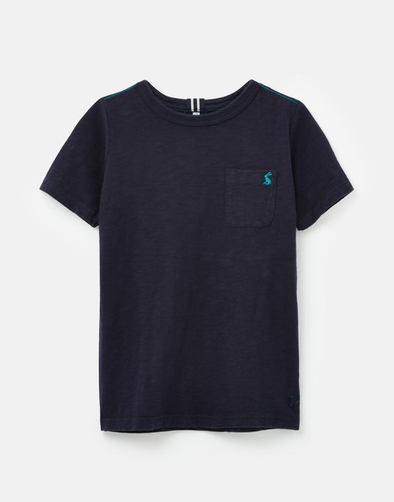Joules Boys Laundered T-Shirt 1-12 Years - Navy