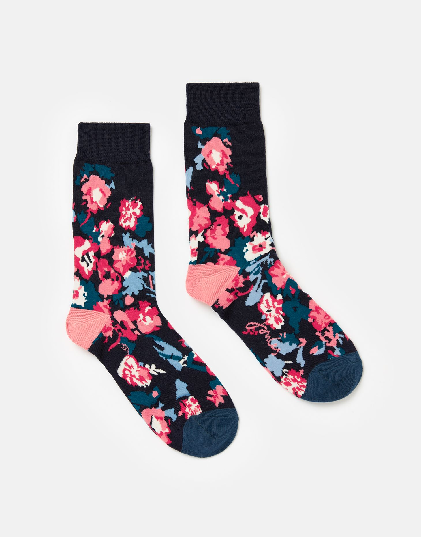Joules Brill Bamboo Socks Set of 3 Floral