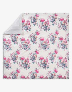 Joules UK Cottage Garden Floral Homeware Duvet Cover PINK FLORAL