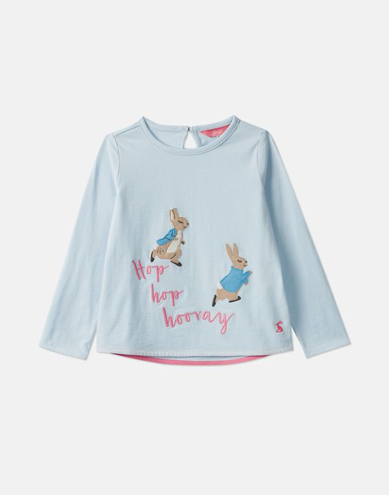 21e43920b Ava Official Peter Rabbit™ Collection Applique T-Shirt 1-6 Years