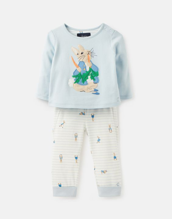406c16076831 Byron Official Peter Rabbit™ Collection Applique Top And Pants Set