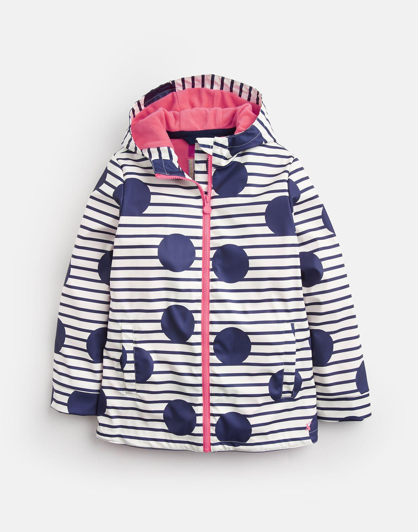 5d6320694 Raindance BLUE LARGE SPOT AND STRIPE Waterproof Rubber Coat 3-12 Yr ...