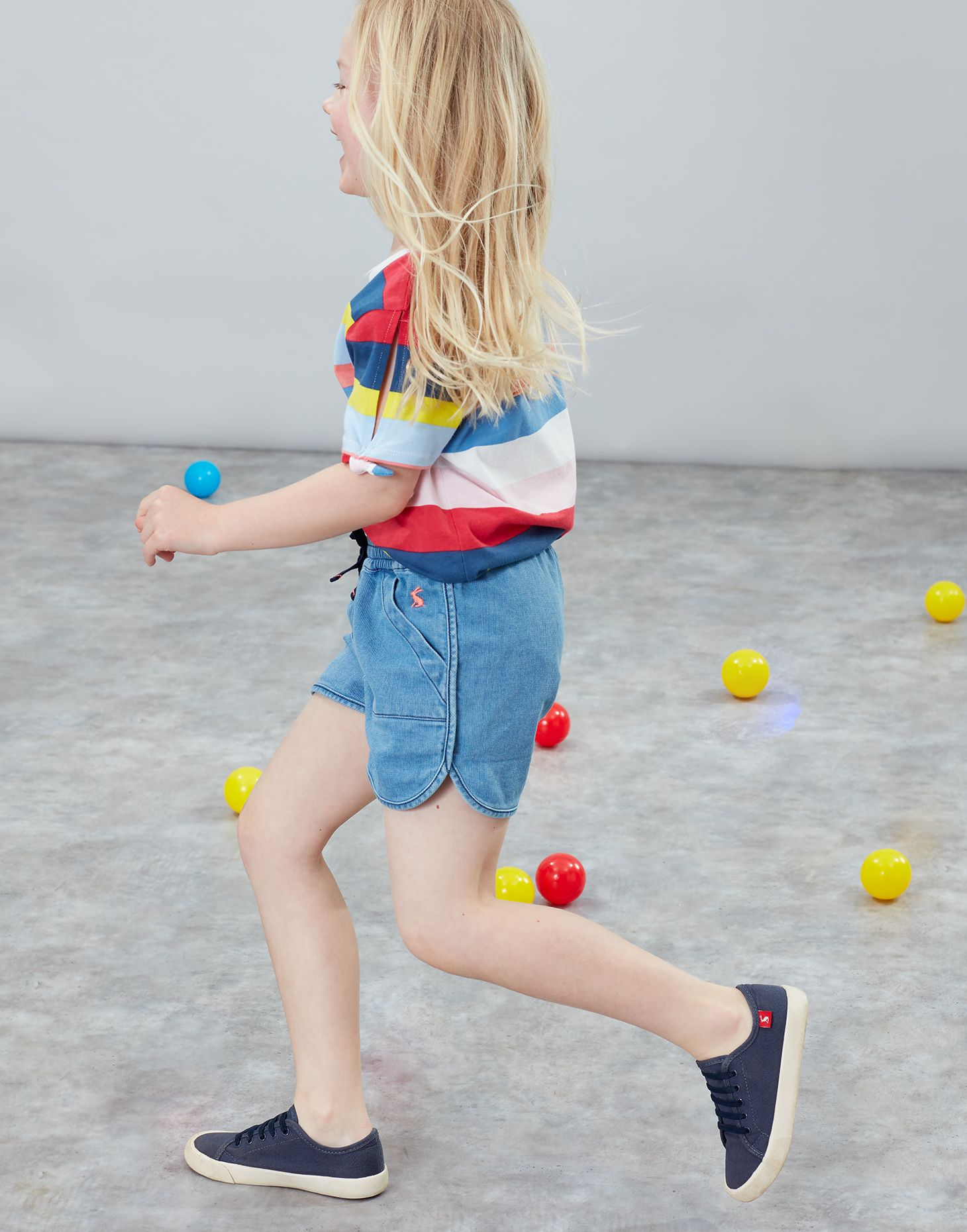 Joules Girls Shorts BNWT Age 3 Years