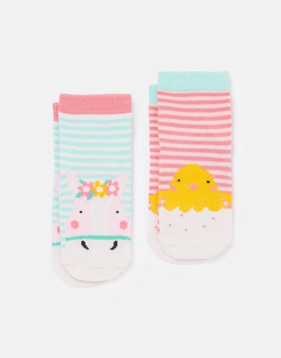 Neat Feet Character Baby Socks 2 Pack