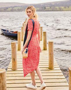 size 40 62e80 14d7d Paloma Kleid mit geraffter Taille
