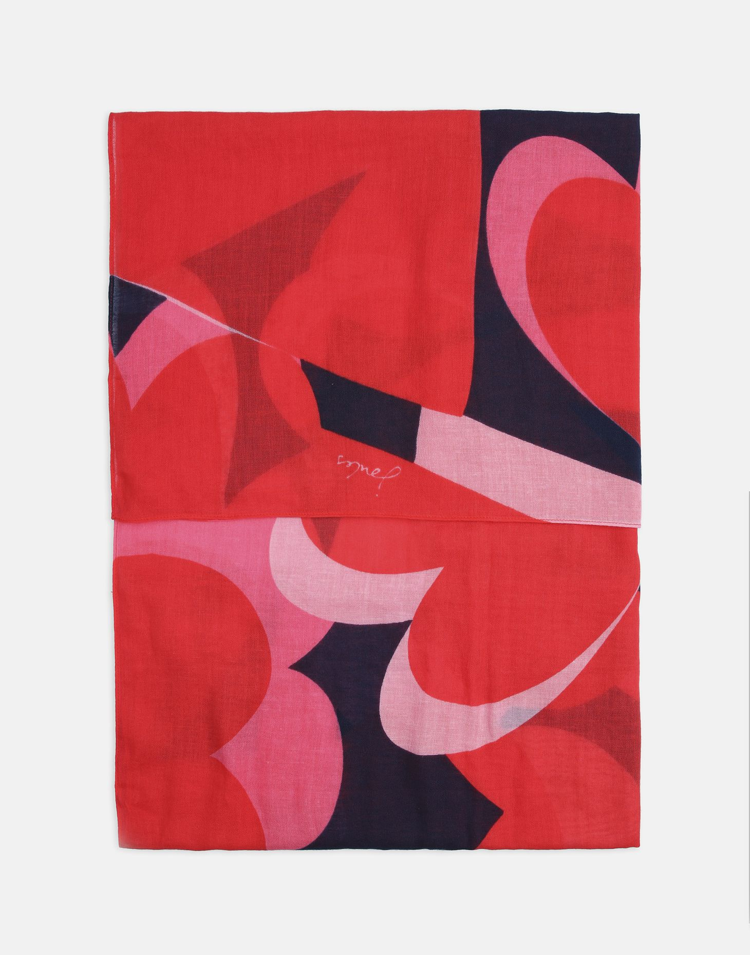 Joules Women Atmore Oversized Square Cotton Scarf ONE in  in One Size