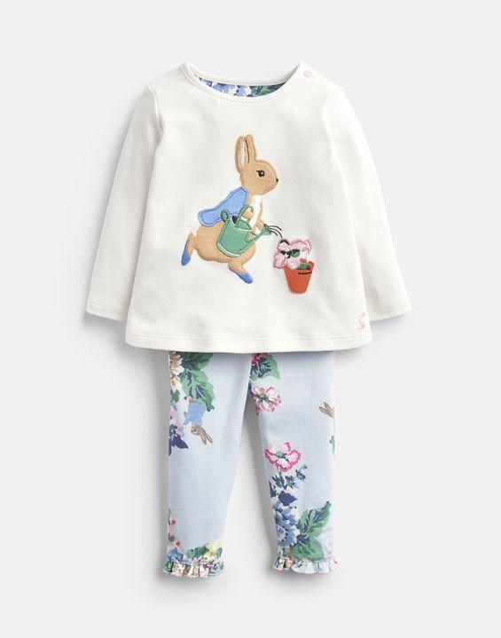 08b0bd52b Poppy Official Peter Rabbit™ Collection Applique Top And Trousers Set. From  £29.95