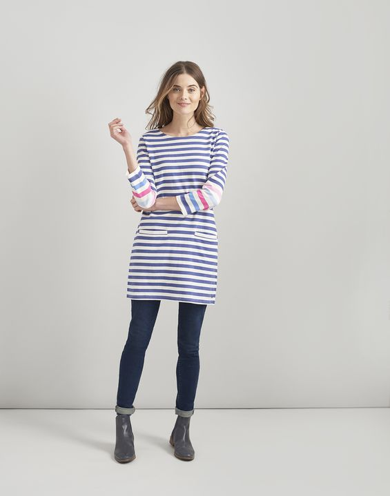 8c5638f75df Tunic Dresses & Tunic Tops | Striped & Floral Tunics For Women | Joules