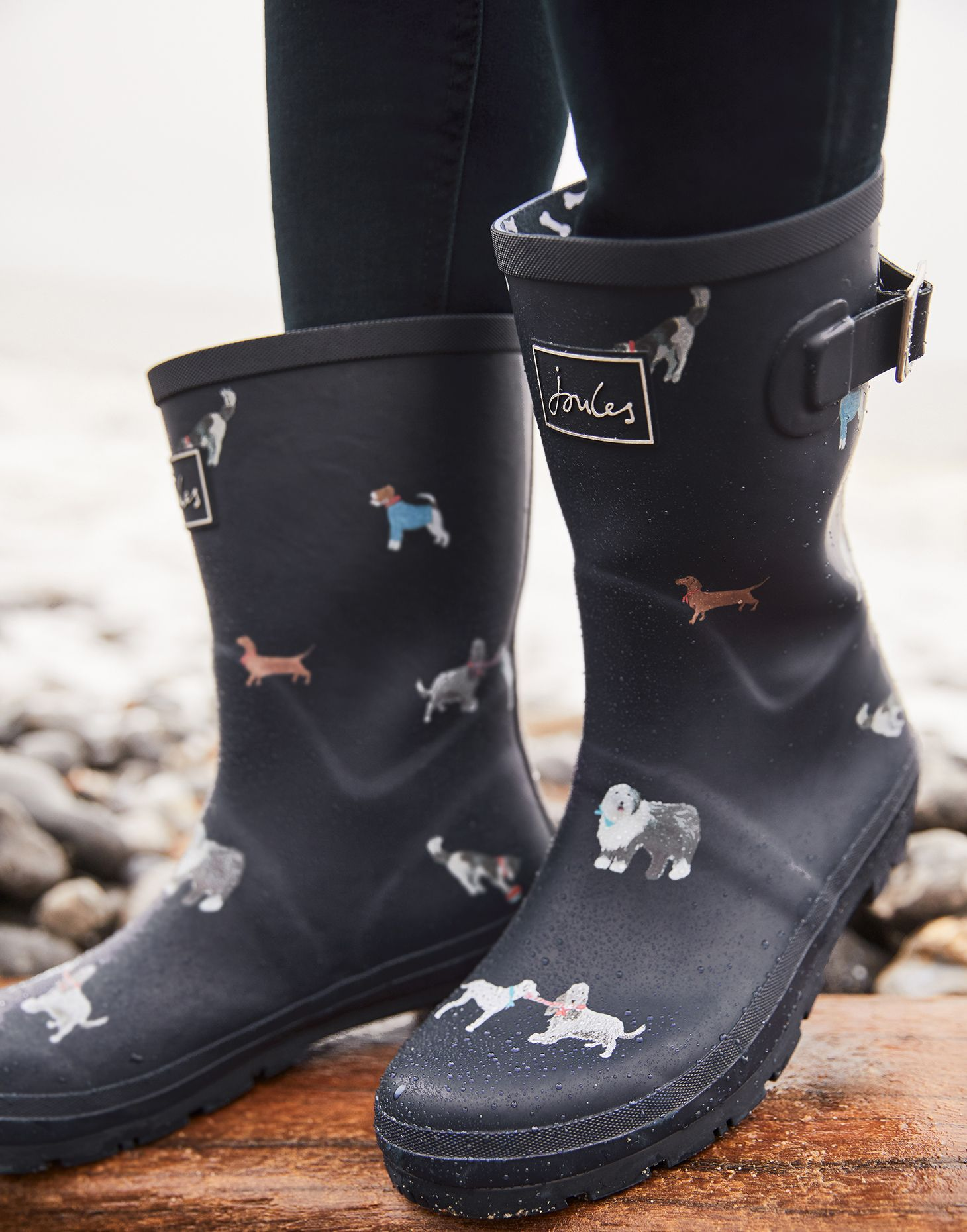 Joules Women/'s Molly Welly Wellington Boots