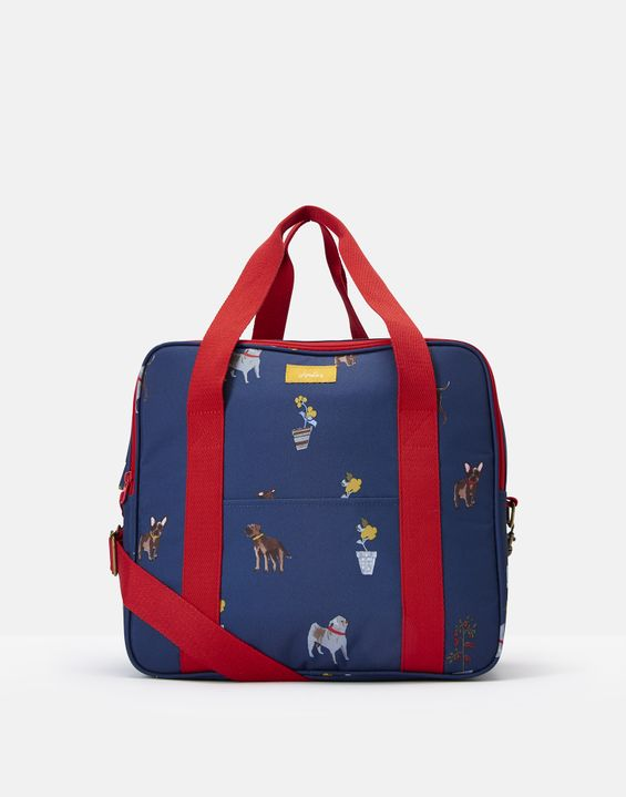 Image of BLUE DOGS Picnic cool bag Printed and Fully Insulated Size One Size