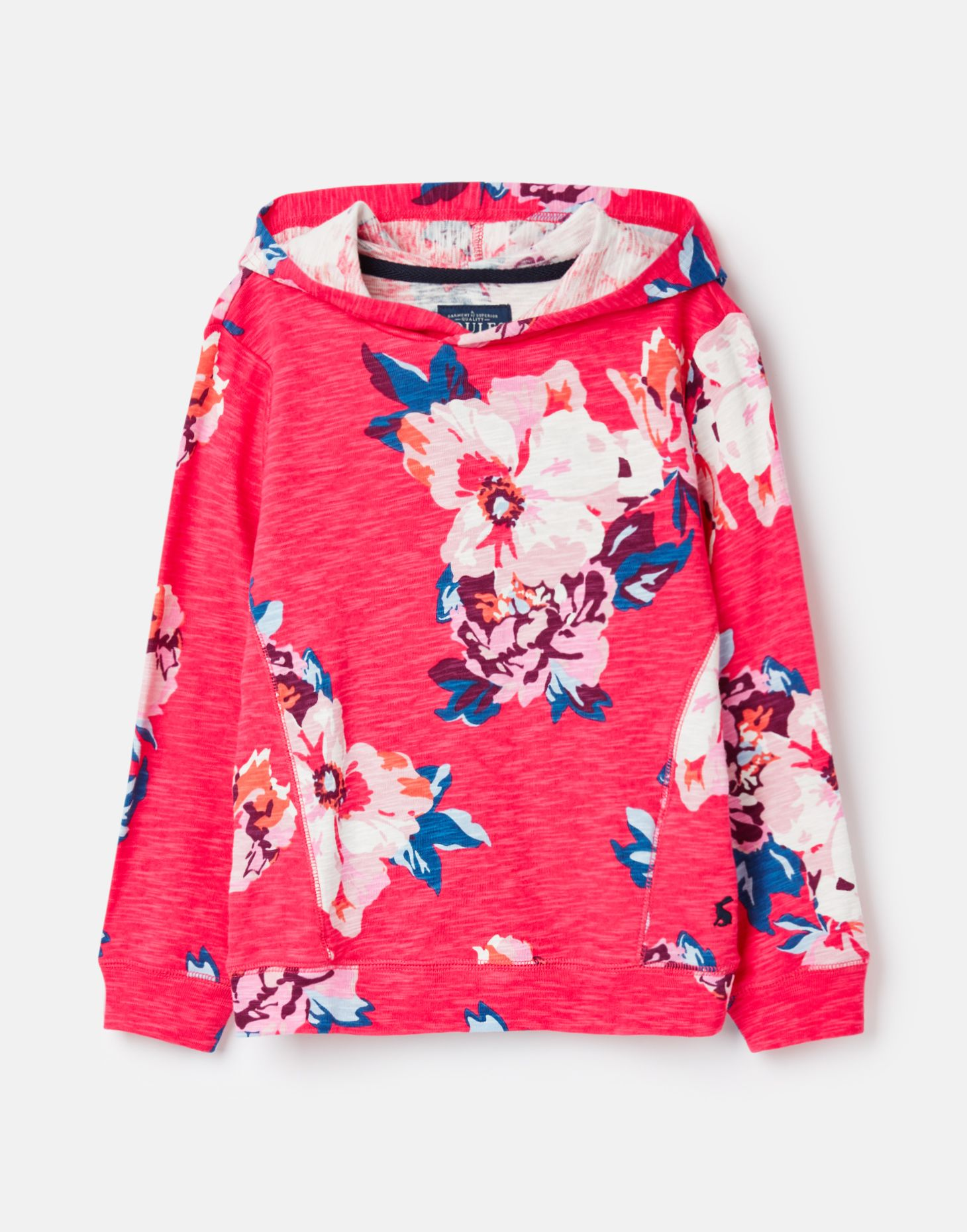 Tom Joule Neu Mädchen 207111 Schlupf-Sweatshirt Rosa Geblümt