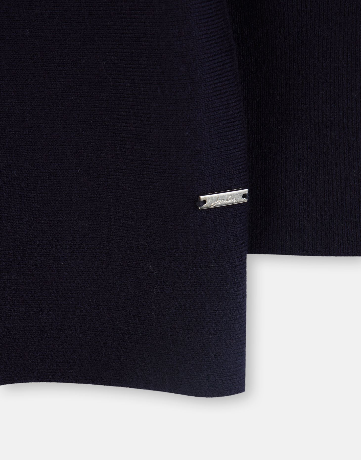 Joules 207524 Basic Boat Neck Sweater With Ribbed Cuff in FRENCH NAVY