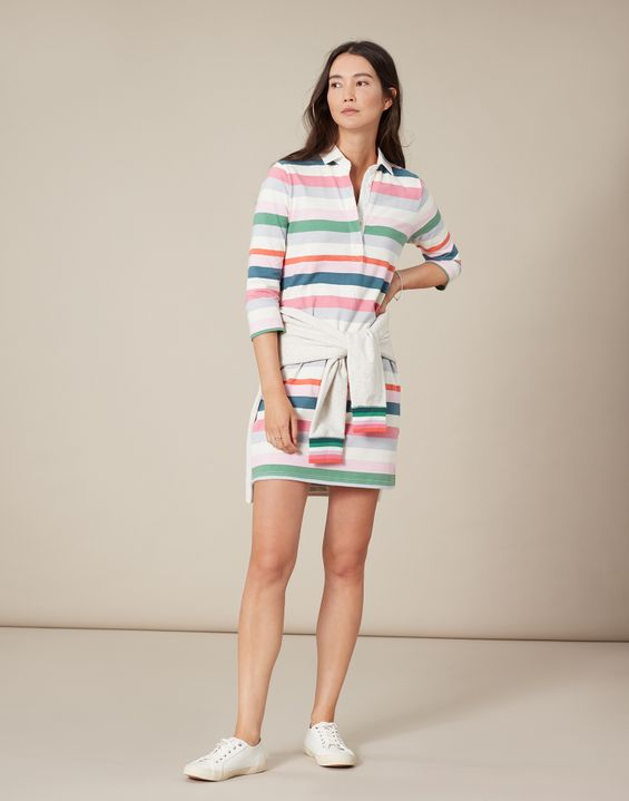 Winona 3/4 Sleeve Rugby Dress by Joules