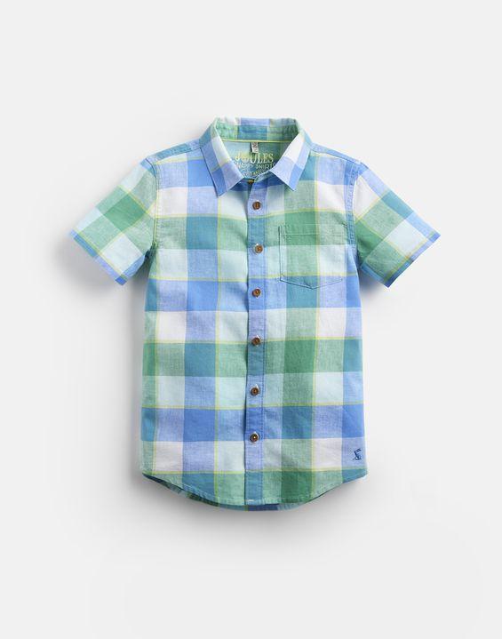 fa0abc9ebc33a3 SARK Short Sleeve Check Shirt 1-12 Yr