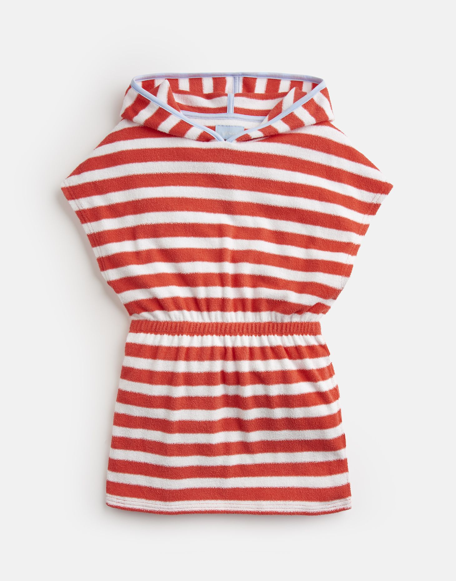 e2b240243f Beach WHITE CORAL STRIPE Towelling Cover Up 1-12 Yr | Joules US