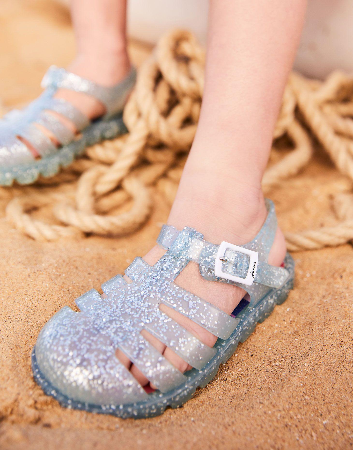 Joules Baby Juju Jelly Shoe Juju Jelly Shoe in SILVER