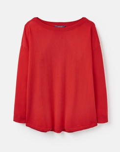 Joules UK Kerry Womens Jumper CHINESE RED