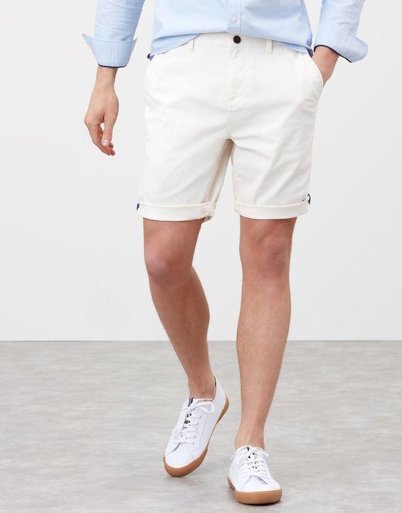 Joules Mens Chino Shorts - Cream