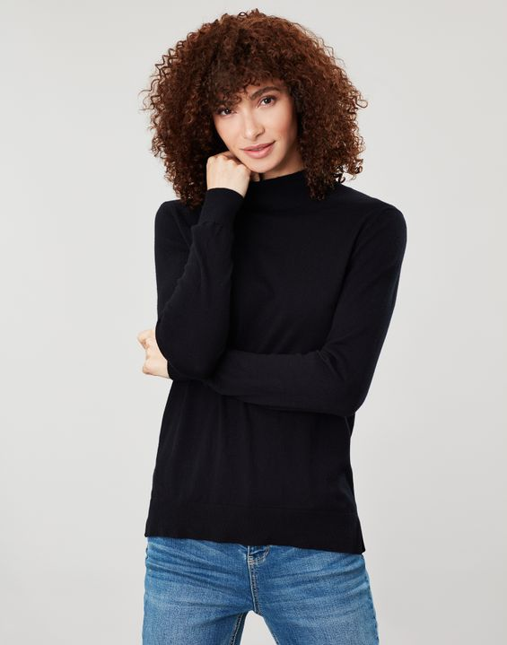 Joules Womens Orianna Roll Neck Jumper FRENCH NAVY