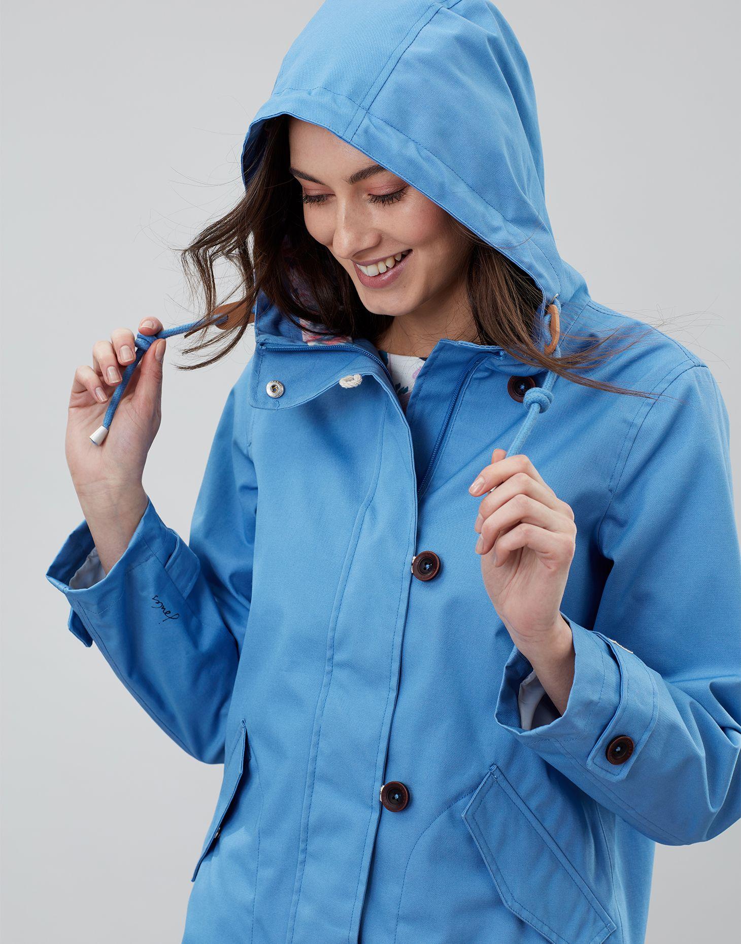 Joules Womens Coast Mid Rain Jacket