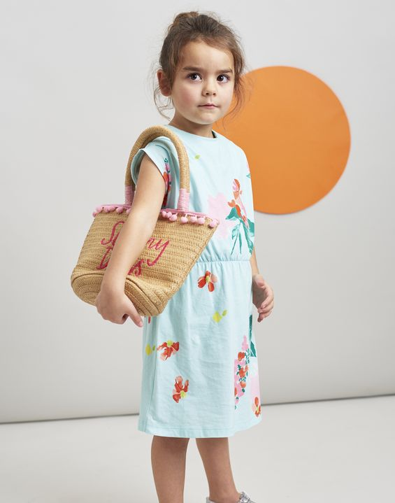 806579dca1e9 ... Joules UK Annabel Younger Girls Jersey Printed Dress 1-6 Yr