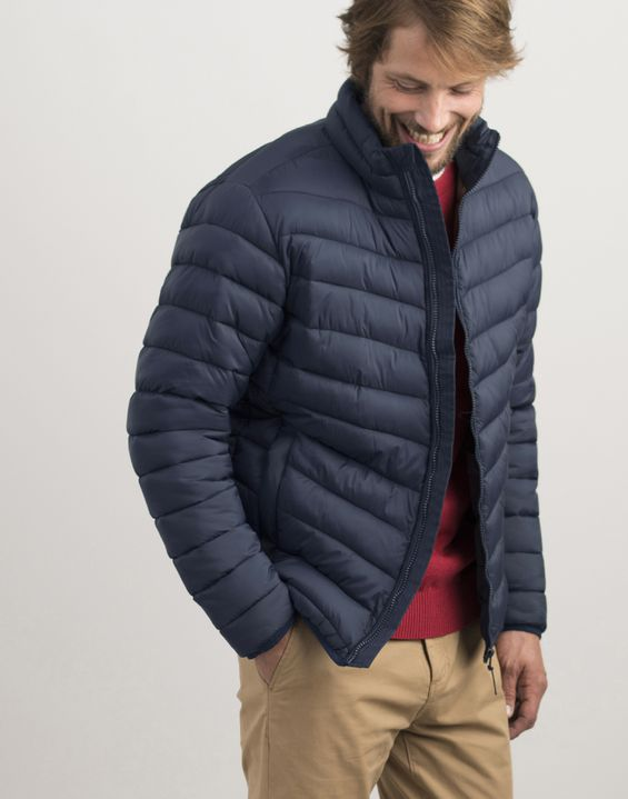 Joules US GO TO Mens Lightweight Padded Jacket MARINE NAVY