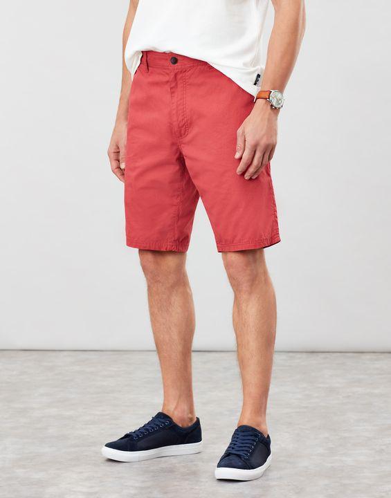 Joules Mens Chino Shorts Classic Fit - Medium Rose