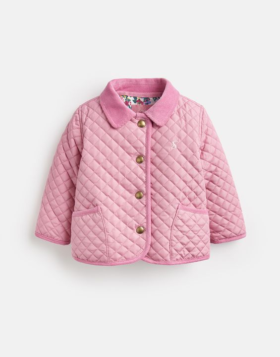 51c269c57 Joules UK Mabel Baby Girls Quilted Jacket Joules UK Mabel Baby Girls  Quilted Jacket