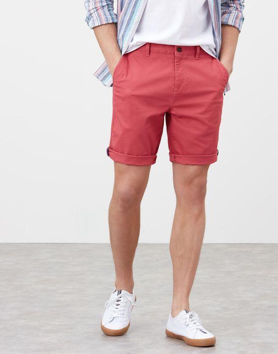 Joules Mens Chino Shorts - Medium Rose