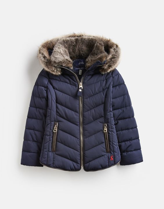 8045249a7 Girls' Coats & Jackets | Waterproof & Quilted Jackets for Girls | Joules