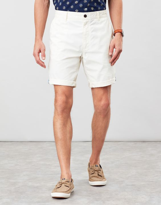Joules Mens Chino Shorts Classic Fit - Cream