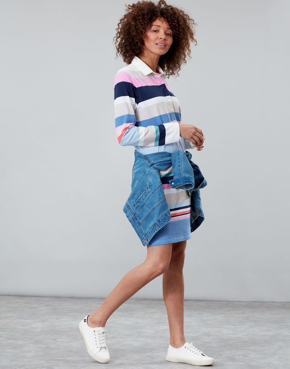 Winona Rugby Dress by Joules