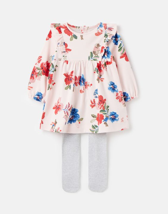 Peter Rabbit Harleigh Dress and Tight Set 0-24 Months